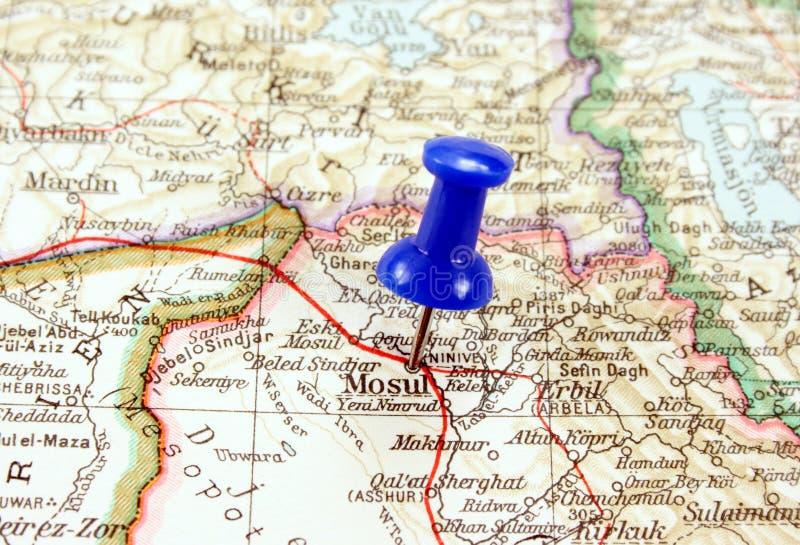 Mosoel, Irak royalty-vrije stock afbeeldingen