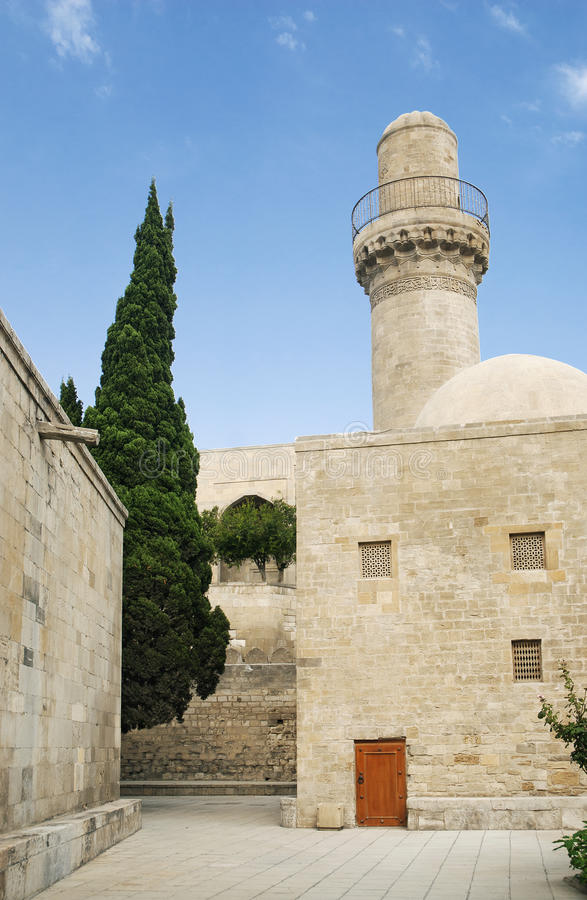 Mosquée à Bakou Azerbaïdjan photo libre de droits