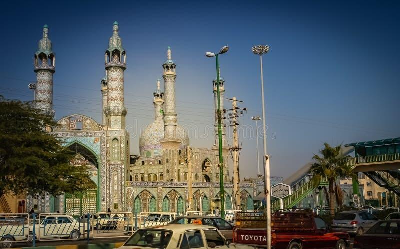 Mosquée à Bandar Abbas photographie stock