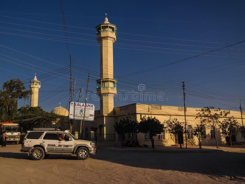 Mosquée à Hargeisa, la plus grande ville de Somaliland Somalie photos stock