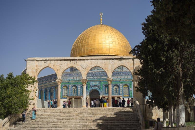 Mosquée à Jérusalem Israël - 20 mars 2018 photographie stock libre de droits