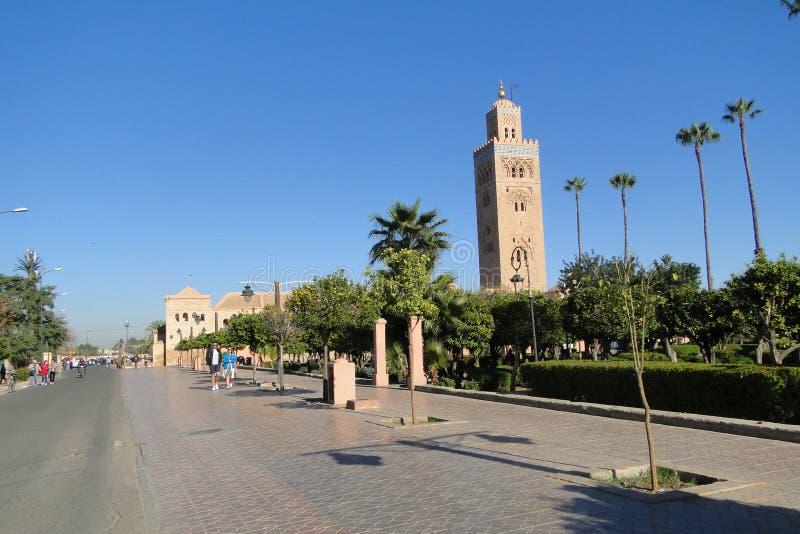 Mosquée à Marrakech photos libres de droits