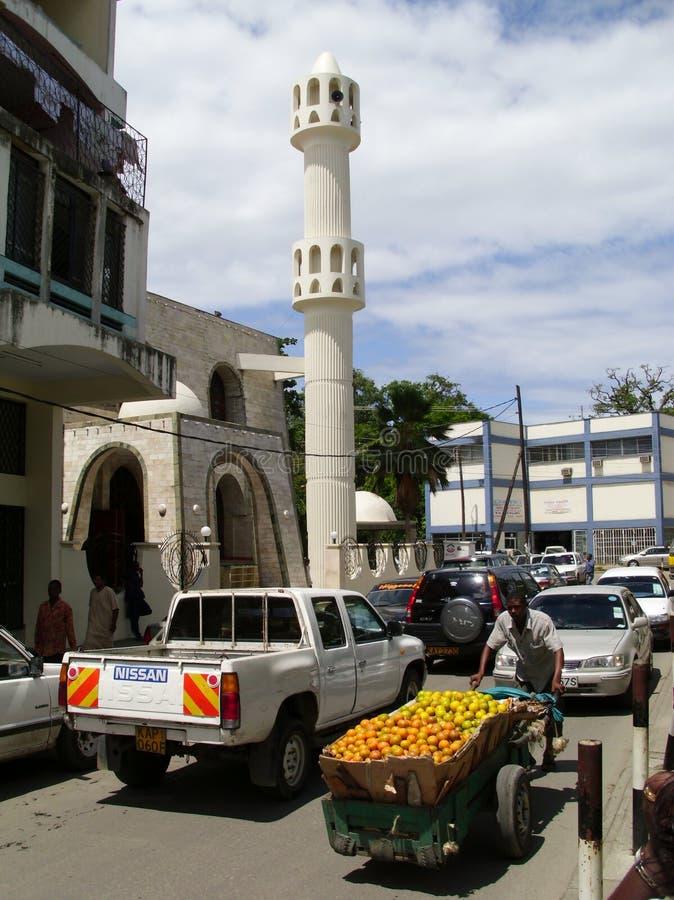 Mosquée à Mombasa image libre de droits