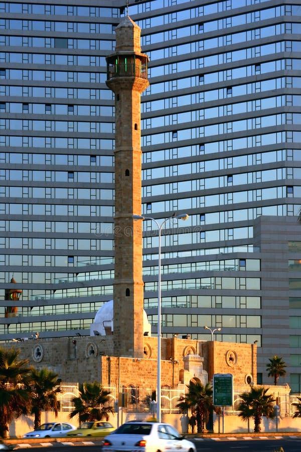 Mosquée à Tel Aviv. photo libre de droits