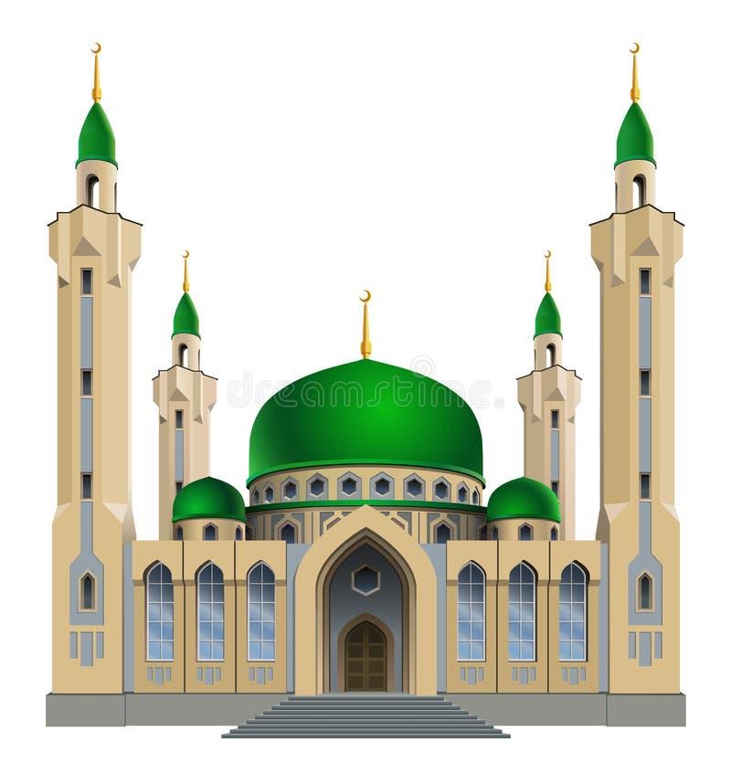 Mosquée illustration libre de droits