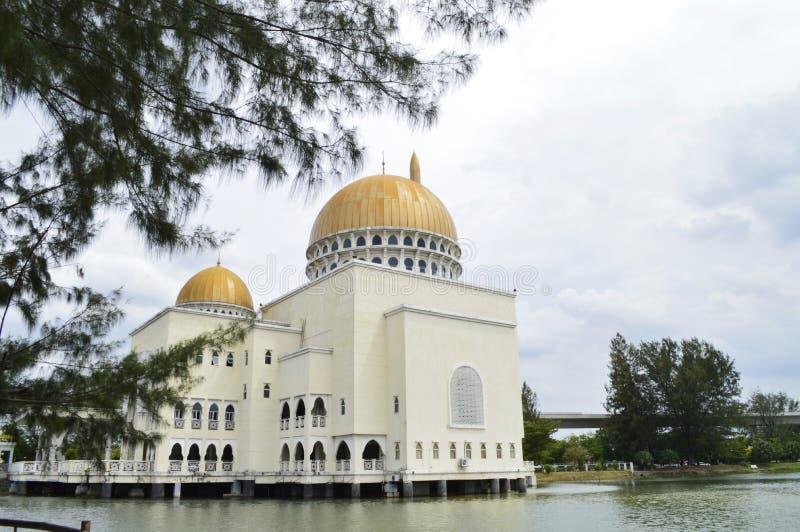 Mosquée As-Salam située à Puchong Perdana, Selangor, Malaisie photographie stock