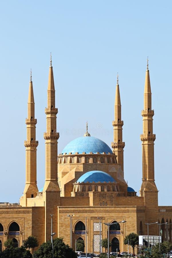 Mosquée, Beyrouth photos libres de droits