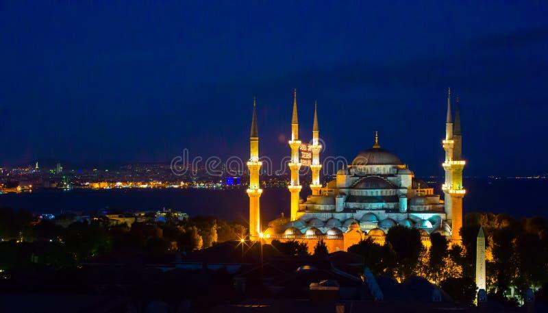 Mosquée bleue à Istanbul, Turquie, Sultanahmet images stock