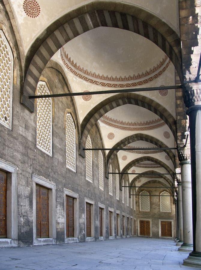 Mosquée bleue 12 image libre de droits