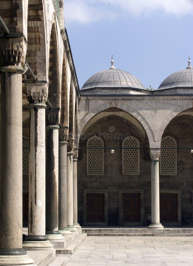 Mosquée bleue 15 images stock