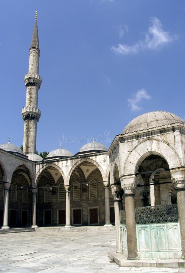 Mosquée bleue 16 images libres de droits