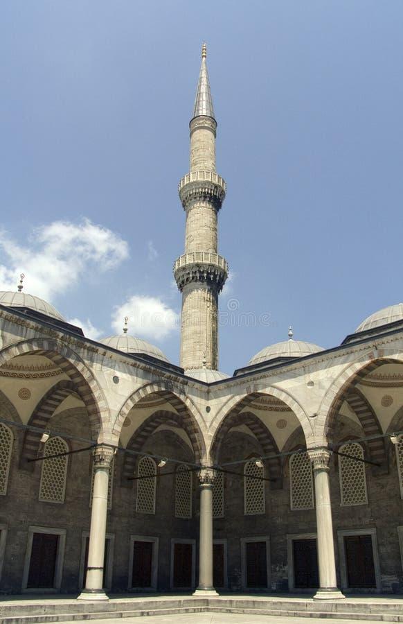 Mosquée bleue 2 photos libres de droits