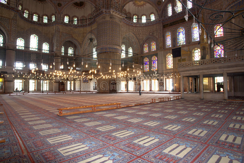 mosquée bleue photo libre de droits