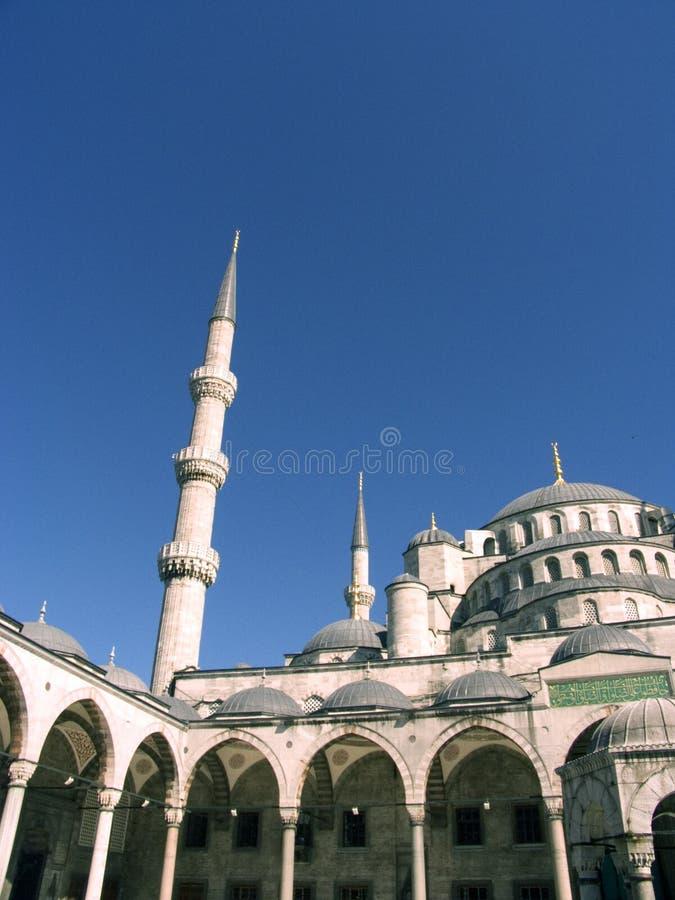 Mosquée bleue 9 images stock