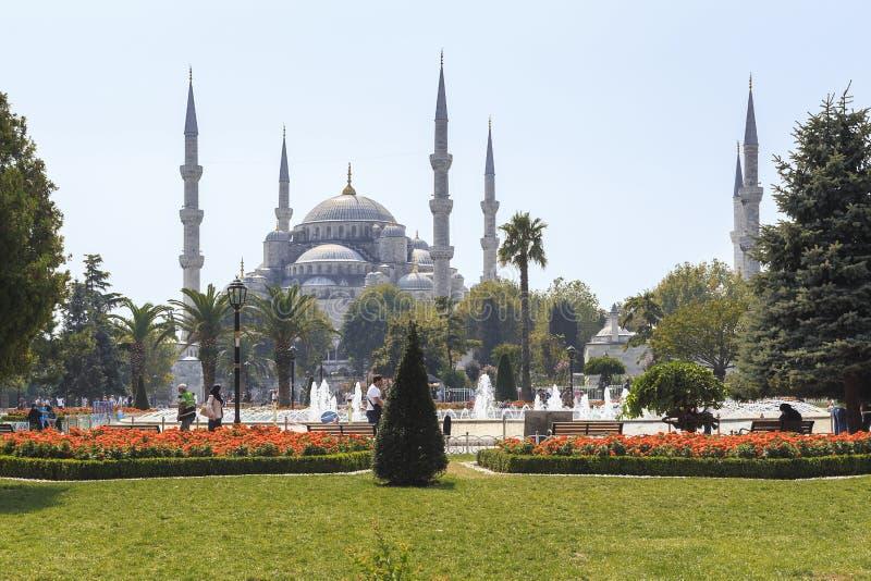 Mosquée bleue de mosquée de Sultanahmet, Istanbul images libres de droits