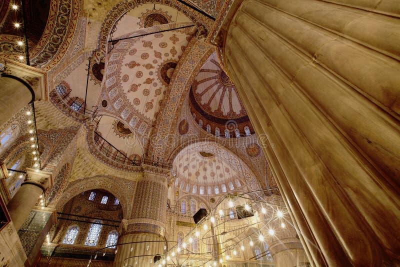 Mosquée bleue Istanbul image libre de droits