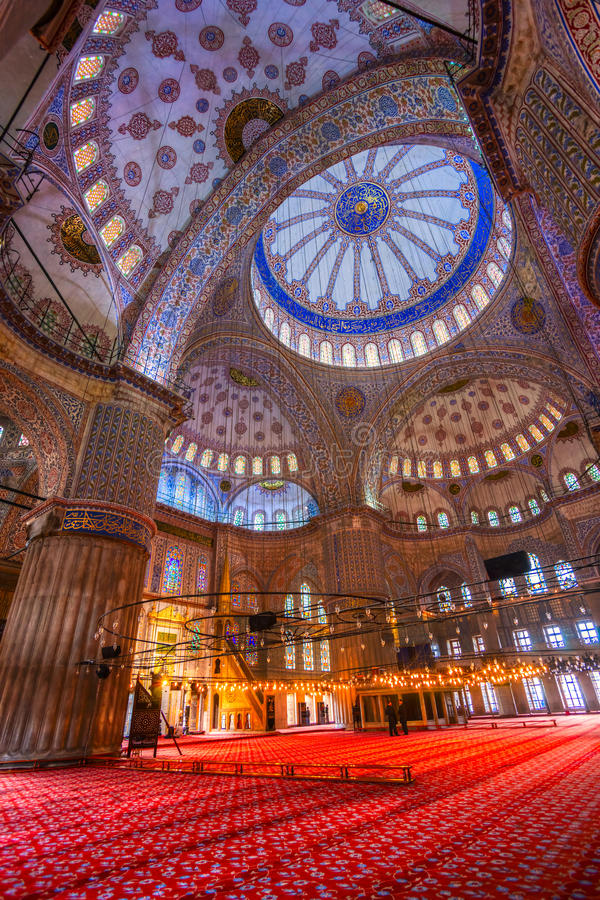 Mosquée bleue, Istanbul. photos stock