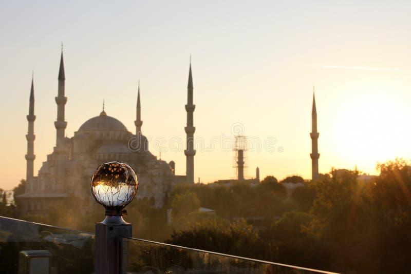 Mosquée bleue, Istanbul, Turquie image stock