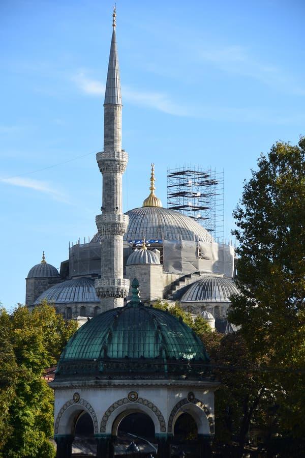 Mosquée bleue, Sultanahmet, Istanbul, Turquie images stock