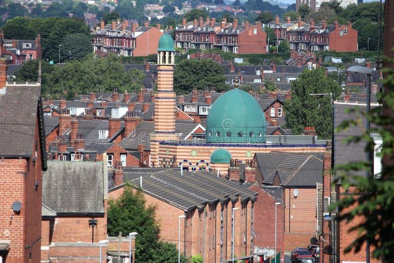 Mosquée BRITANNIQUE photographie stock libre de droits