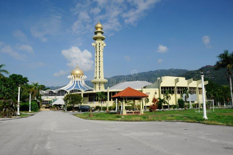 Mosquée d'état de Penang à Penang photographie stock libre de droits