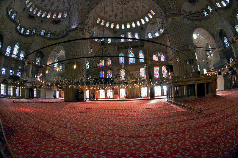 Mosquée d'Ahmed de sultan photo libre de droits