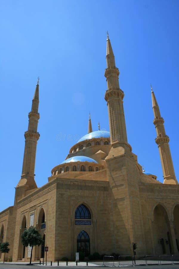 Mosquée d'Al-Amine, Beyrouth du centre photo stock