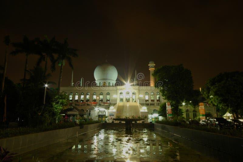 Mosquée d'Al-Azhar à Jakarta photo libre de droits