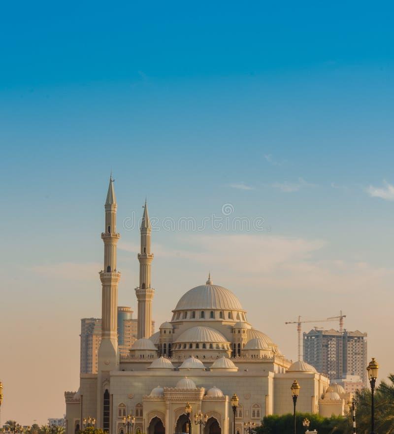 Mosquée d'Al-Noor de Masjid photographie stock libre de droits