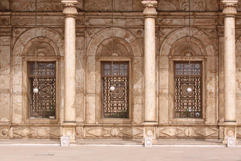 Mosquée d'albâtre photo libre de droits