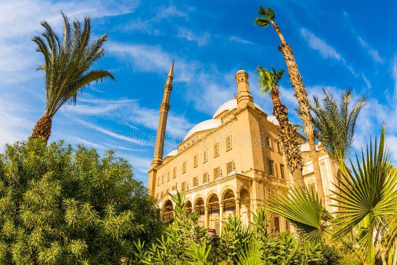 Mosquée d'albâtre, le Caire photographie stock