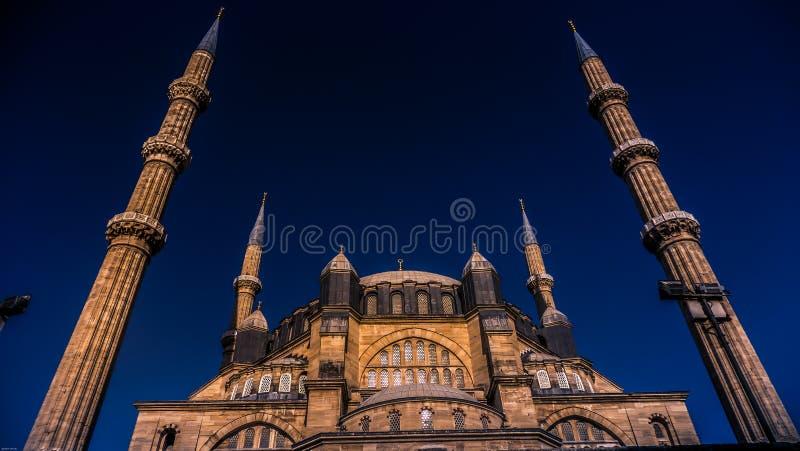 Mosquée d'Edirne Selimiye images libres de droits