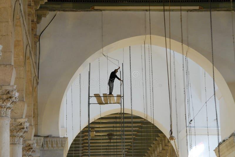 Mosquée d'Emevi à Alep photo stock