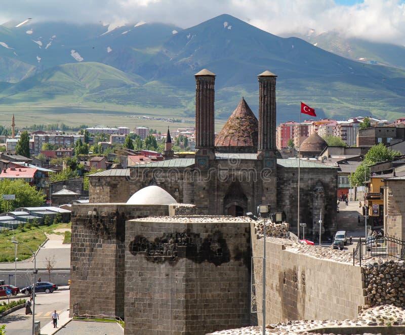 Mosquée d'Erzurum photo libre de droits