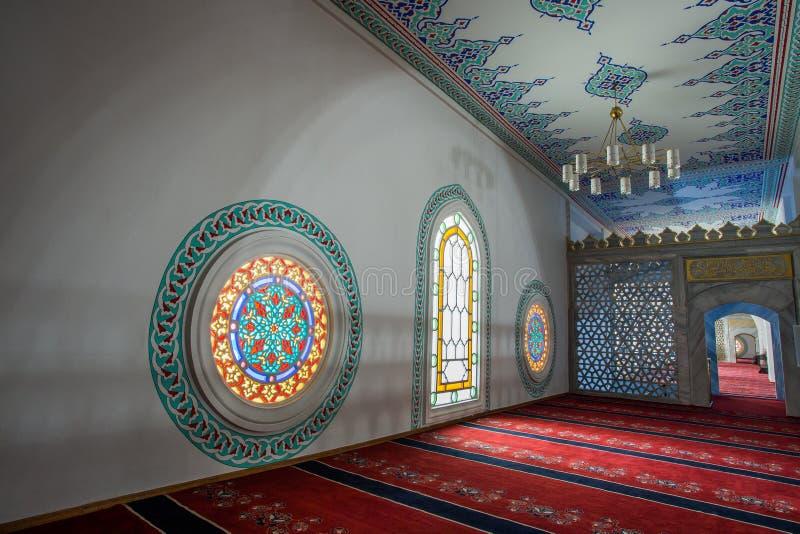 Mosquée d'intérieur photo stock