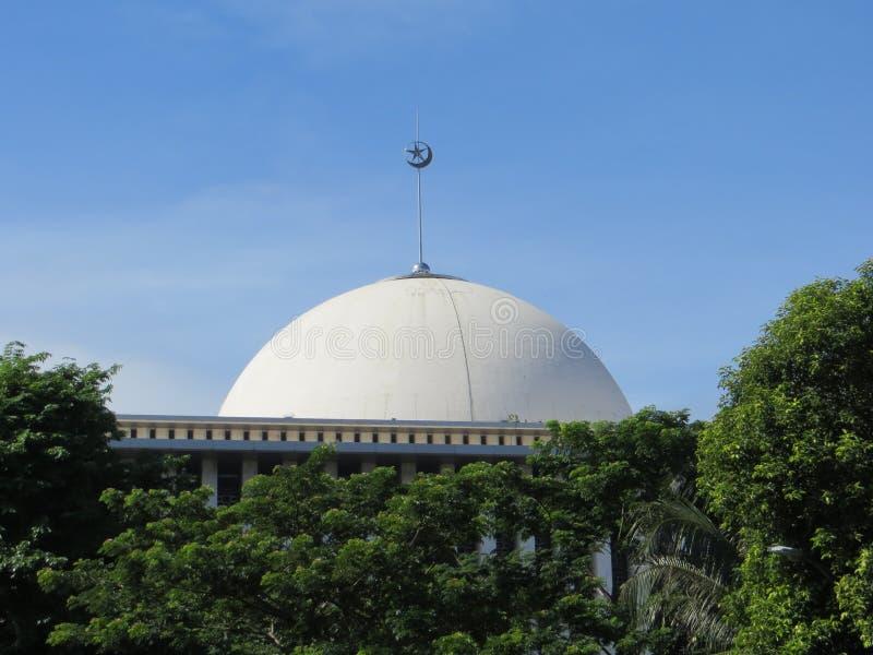 Mosquée d'Istiqlal, Jakarta image stock