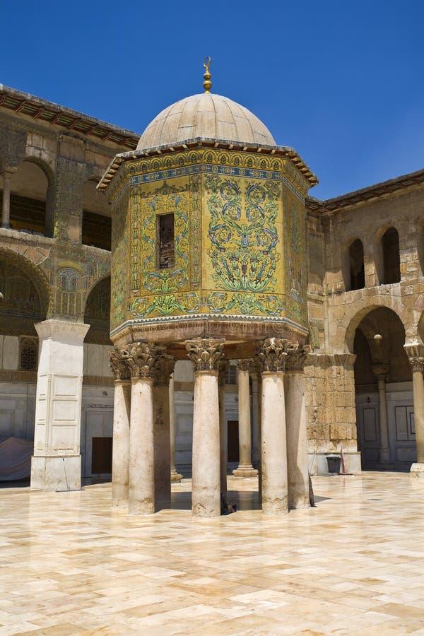 Mosquée d'Omayyad images stock