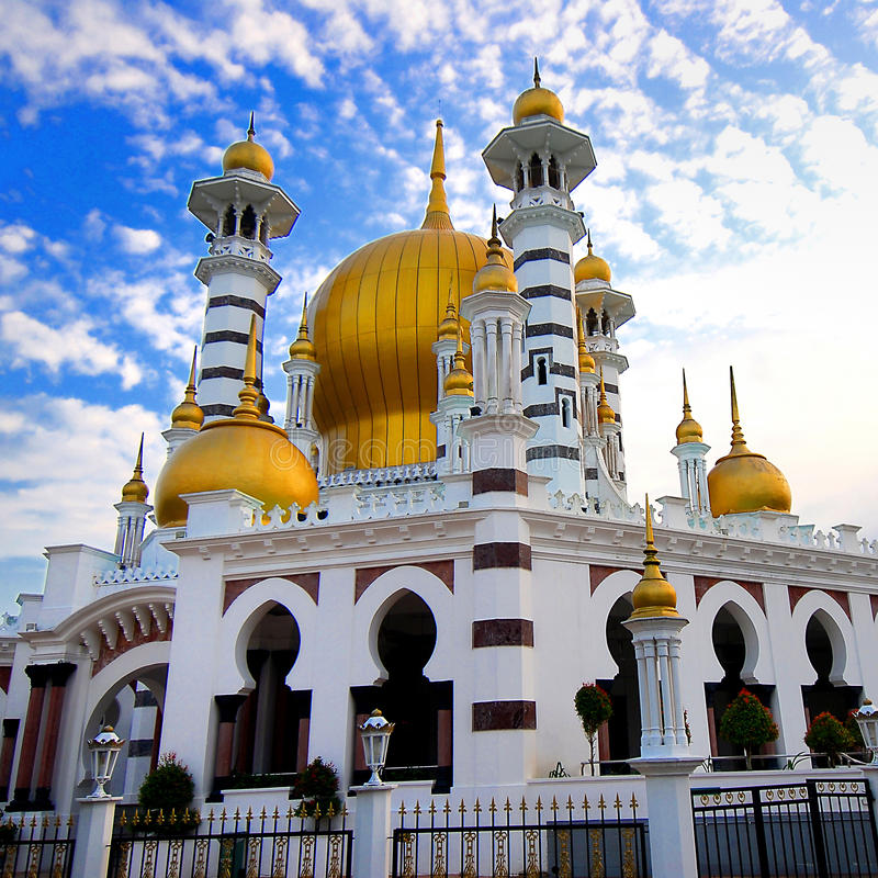 Mosquée d'Ubudiah images libres de droits