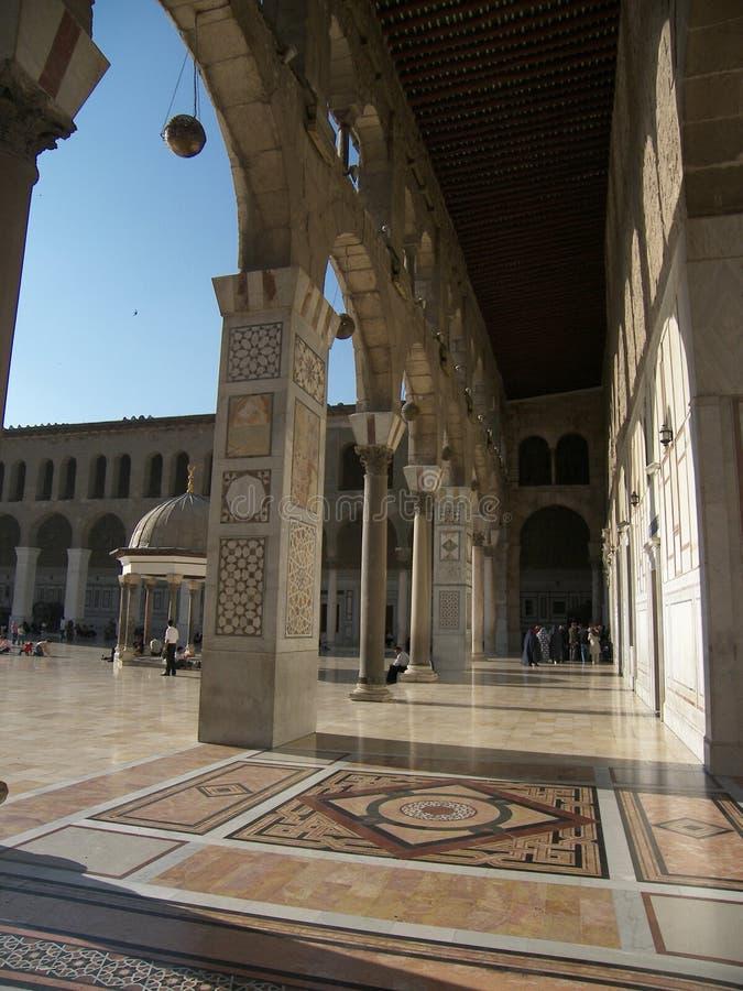 Mosquée d'Umayyad à Damas photos stock