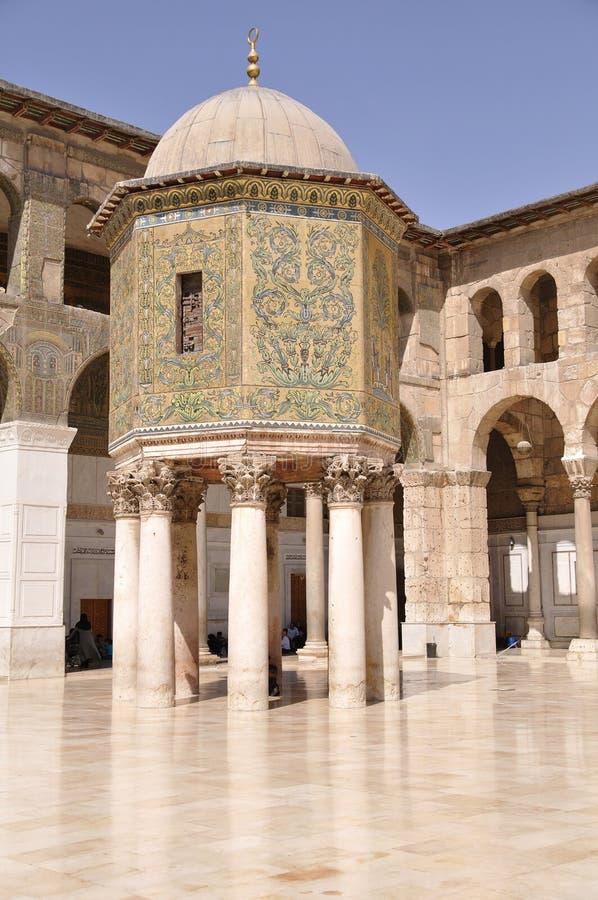 Mosquée d'Umayyad image stock
