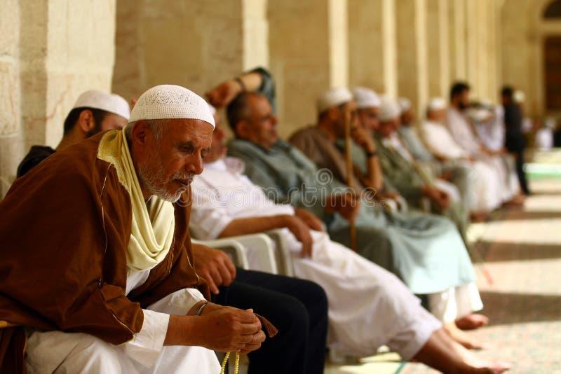 Mosquée d'Umayyad image libre de droits