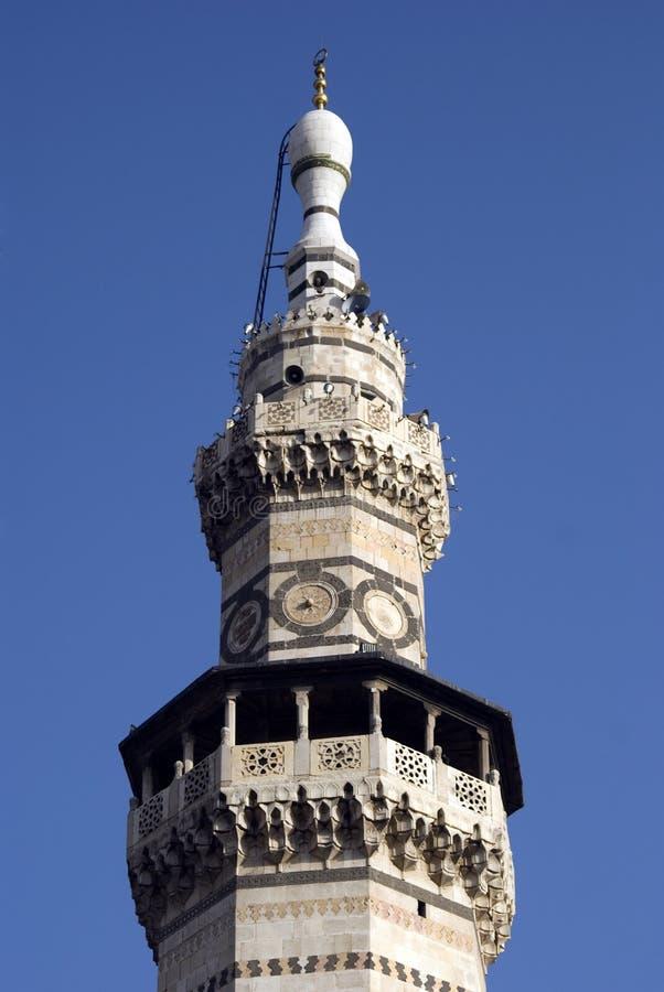 Mosquée d'Umayyad, Damas, Syrie image libre de droits
