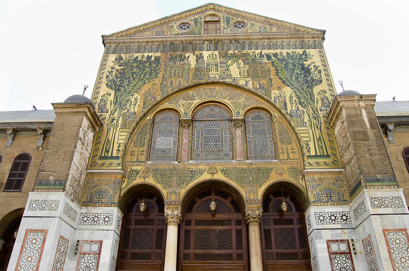 Mosquée d'Umayyad - Damas - Syrie photos libres de droits