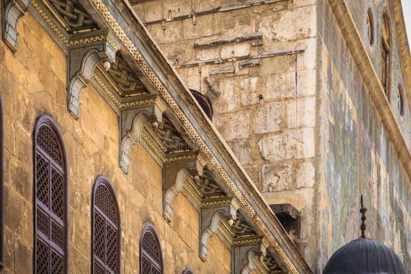 Mosquée d'Umayyad, Damaskus photographie stock