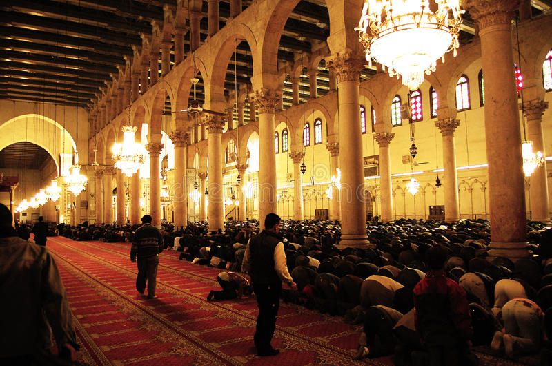 Mosquée d'Umayyad - Syrie photo libre de droits