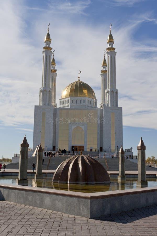 Mosquée dans Aktobe images stock