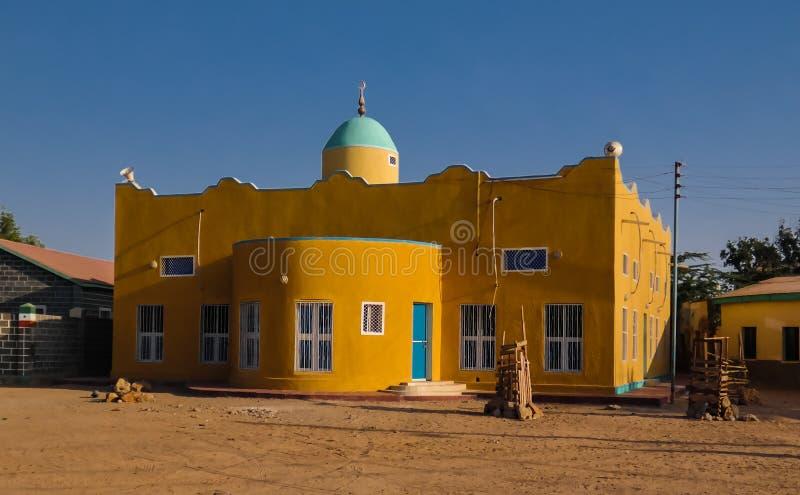 Mosquée dans Berbera, plus grande ville portuaire de Somaliland, Somalie photos stock