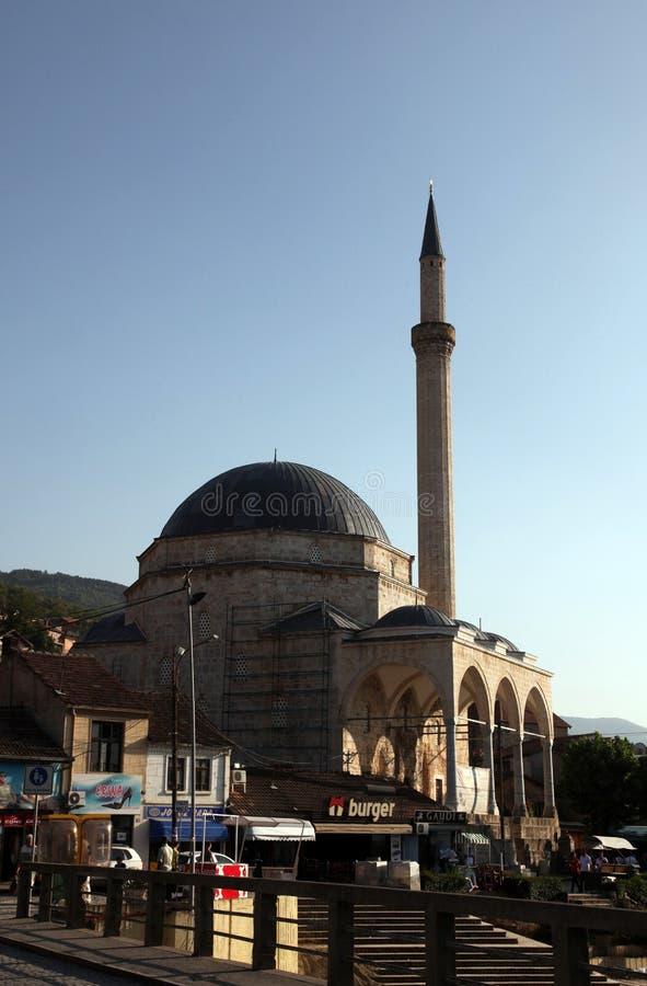Mosquée dans Prizren, Kosovo image libre de droits
