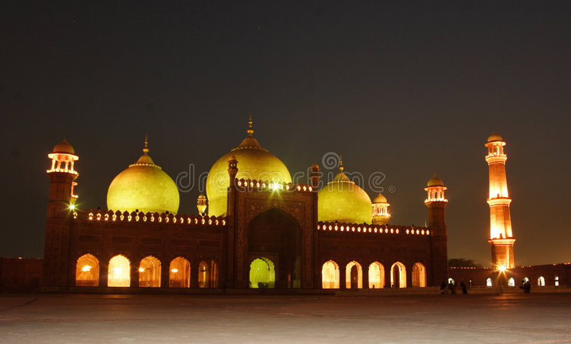 Mosquée de Badshahi photo libre de droits