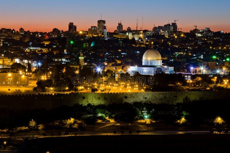 Mosquée de calife Omar à Jérusalem. images stock